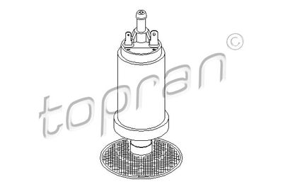 TOPRAN Brandstofpomp (721 468)