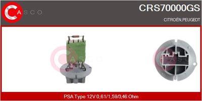 CASCO Weerstand, interieurventilator (CRS70000GS)