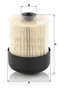 MANN-FILTER Brandstoffilter (PU 9011 z KIT)