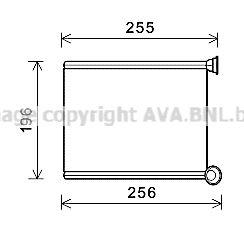 AVA QUALITY COOLING Kachelradiateur, interieurverwarming (CN6281)