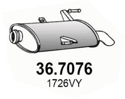ASSO Einddemper (36.7076)