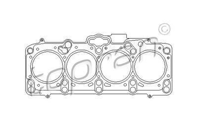 TOPRAN Pakking, cilinderkop (109 359)
