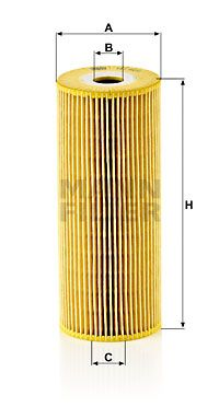 MANN-FILTER Oliefilter (HU 947/1 x)