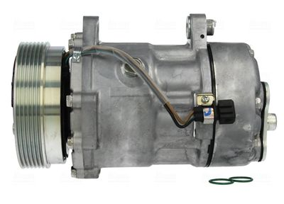 NISSENS Compressor, airconditioning ** FIRST FIT ** (89165)