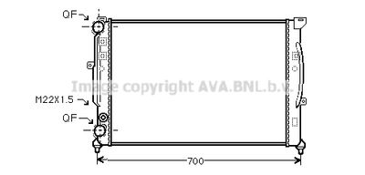 AVA QUALITY COOLING Radiateur (AIA2123)