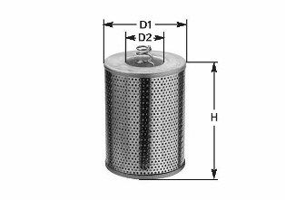 CLEAN FILTERS Oliefilter (ML 461)
