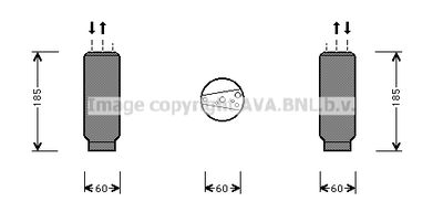 AVA QUALITY COOLING Droger, airconditioning (HDD101)