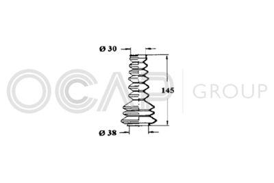 OCAP Stuurhoes, besturing (1211104)