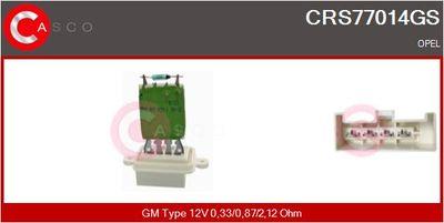 CASCO Weerstand, interieurventilator (CRS77014GS)