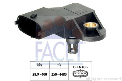 FACET MAP sensor Made in Italy - OE Equivalent (10.3206)