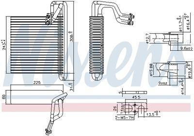 NISSENS Verdamper, airconditioning (92336)