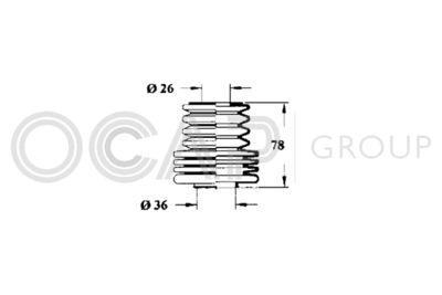 OCAP Stuurhoes, besturing (1211130)