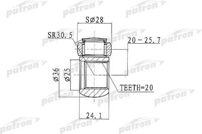 PATRON PTD001