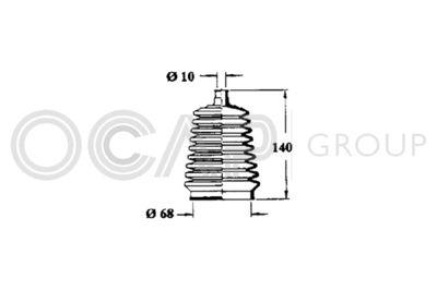 OCAP Stuurhoes, besturing (1211102)