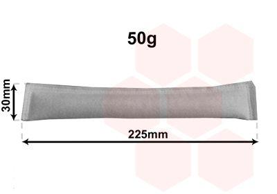 VAN WEZEL Droger, airconditioning (9900D125)