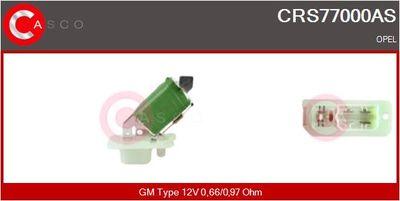 CASCO Weerstand, interieurventilator (CRS77000AS)