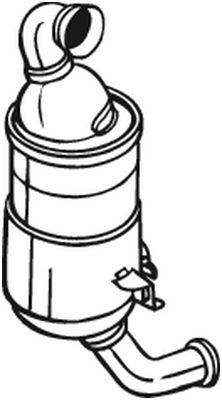 BOSAL Roetfilter, uitlaatinstallatie (097-249)