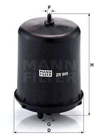 MANN-FILTER Oliefilter (ZR 905 z)