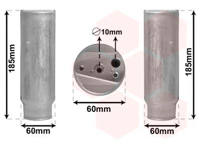 VAN WEZEL Droger, airconditioning (5300D005)