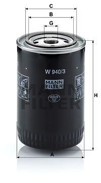 MANN-FILTER W 940/3
