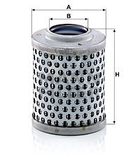 MANN-FILTER Filter, hydrauliek (H 61)