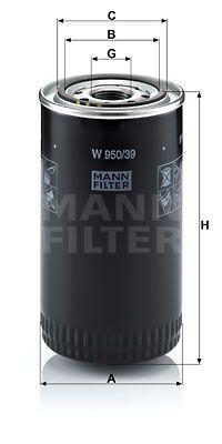 MANN-FILTER Oliefilter (W 950/39)