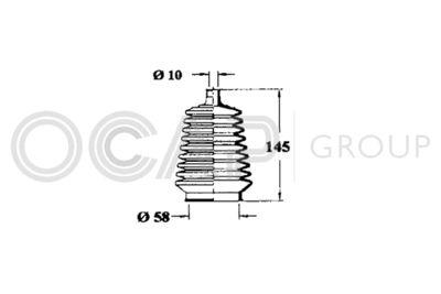 OCAP Stuurhoes, besturing (1211101)