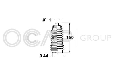 OCAP Stuurhoes, besturing (1211273)