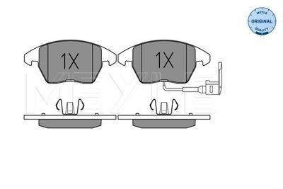 комплект спирачно феродо, дискови спирачки