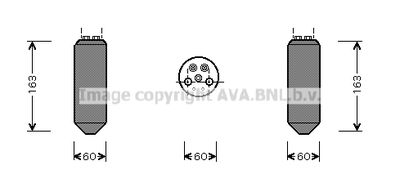 AVA QUALITY COOLING Droger, airconditioning (MZD036)