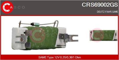 CASCO Weerstand, interieurventilator (CRS69002GS)