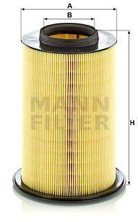 MANN-FILTER Luchtfilter (C 16 134/2)