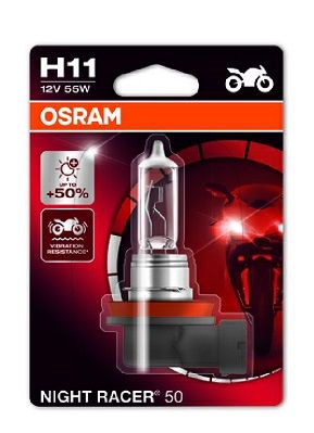 OSRAM Gloeilamp, mistlamp NIGHT RACER 50 (64211NR5-01B)