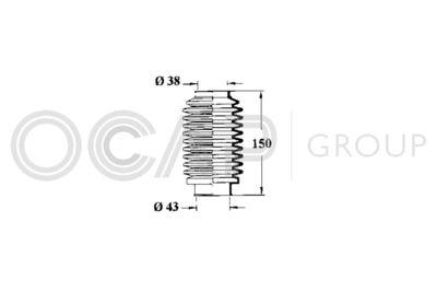 OCAP Stuurhoes, besturing (1211055)