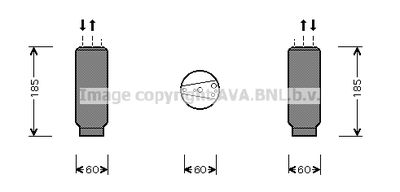 AVA QUALITY COOLING Droger, airconditioning (HDD117)