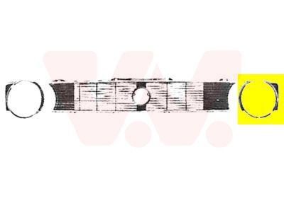 VAN WEZEL Radiateurgrille (5810511)