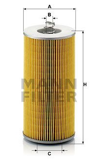 MANN-FILTER Oliefilter (H 12 110/3)