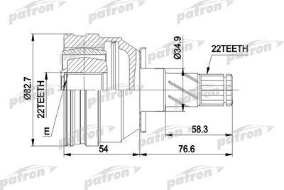 PATRON PCV3008