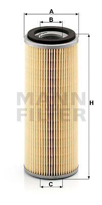 MANN-FILTER Oliefilter (H 1076 x)