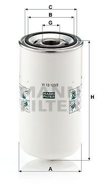 MANN-FILTER Oliefilter (W 13 120/2)