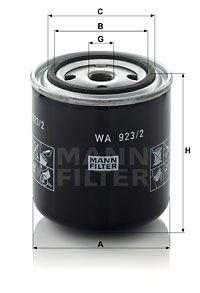 MANN-FILTER Koelmiddelfilter (WA 923/2)