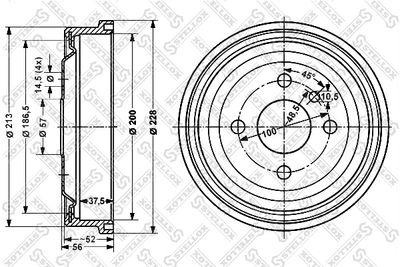 STELLOX 6025-3605-SX