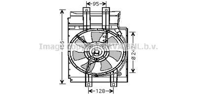 AVA QUALITY COOLING Koelventilatorwiel (DN7519)