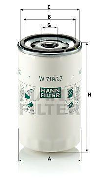 MANN-FILTER Oliefilter (W 719/27)