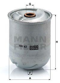 MANN-FILTER Oliefilter (ZR 902 x)