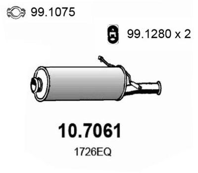 ASSO Einddemper (10.7061)