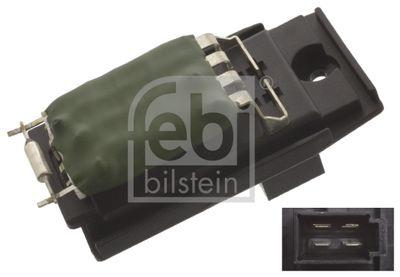 FEBI BILSTEIN Weerstand, interieurventilator febi Plus (45415)