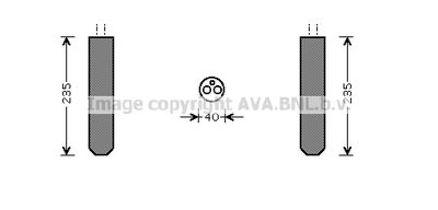AVA QUALITY COOLING Droger, airconditioning (TOD017)