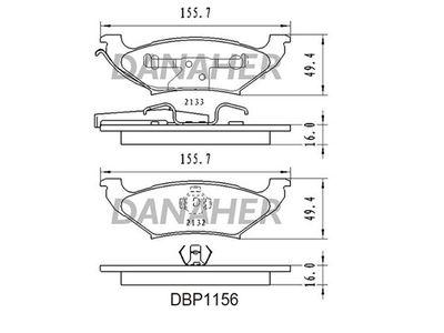 DANAHER DBP1156