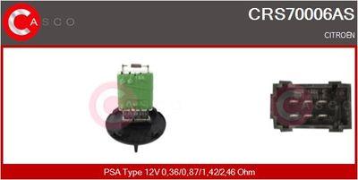 CASCO Weerstand, interieurventilator (CRS70006AS)